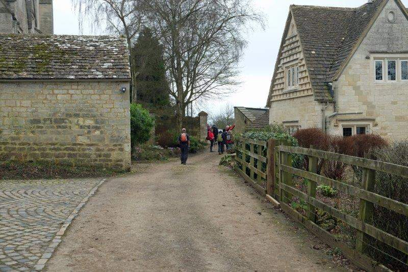 Our route takes us past Sheephouse