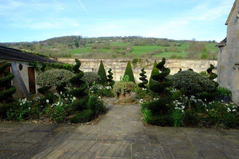 The ornamental garden at Sheephouse