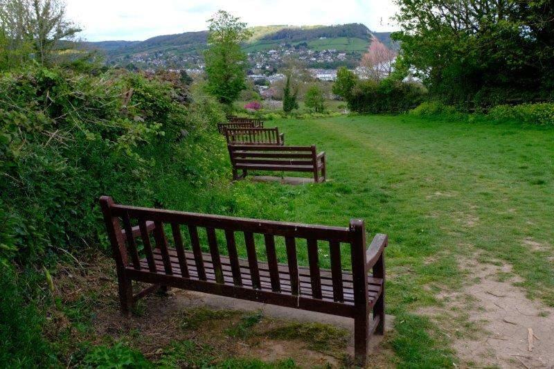Plenty of seats on the hill