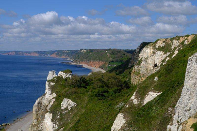 And looking along the coastline
