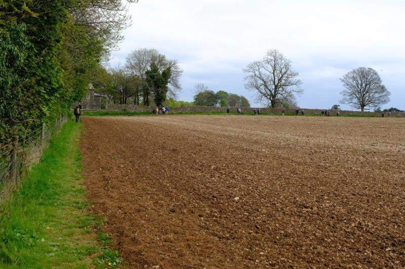 Round a field