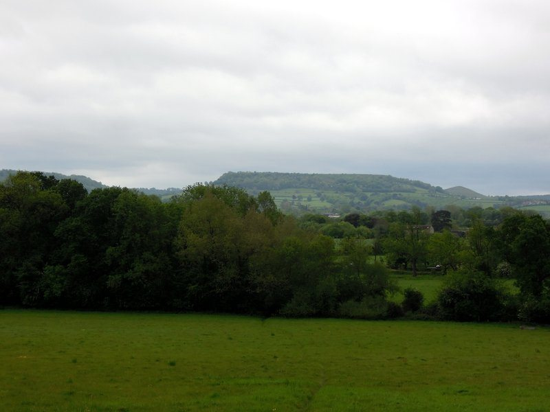 Distant views of Cam Long Down