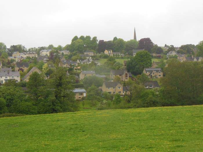Painswick in the valley