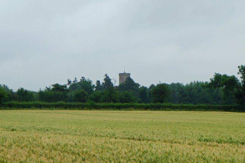 Until the tower of Longney Church  tells us that we are nearly back to  the start