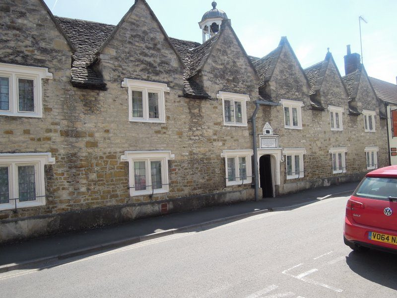 Passing some more almshouses