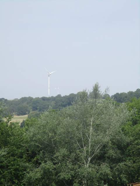 Are there 2 wind turbines at Nympsfield now?