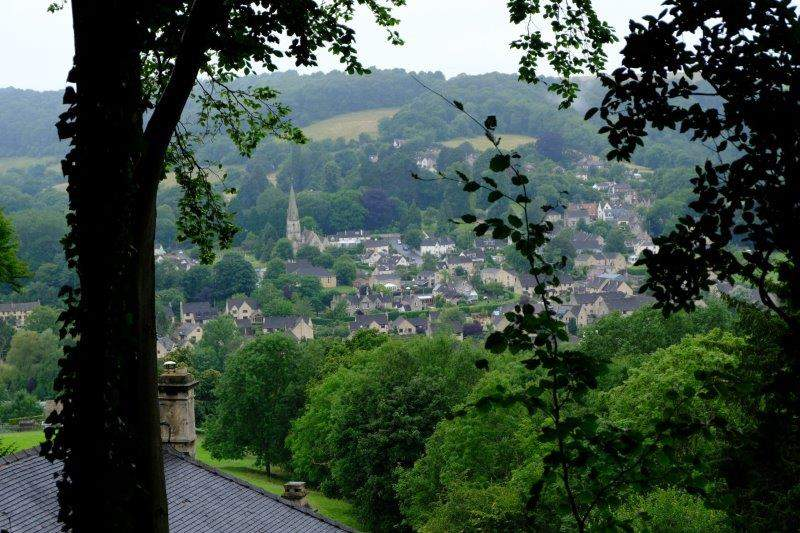 Views over Woodchester
