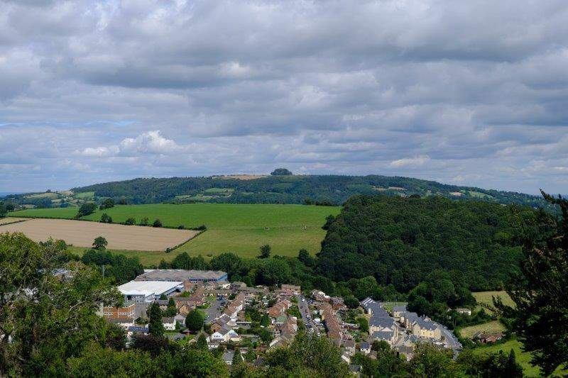 More views of Mitcheldean with May Hill in the background
