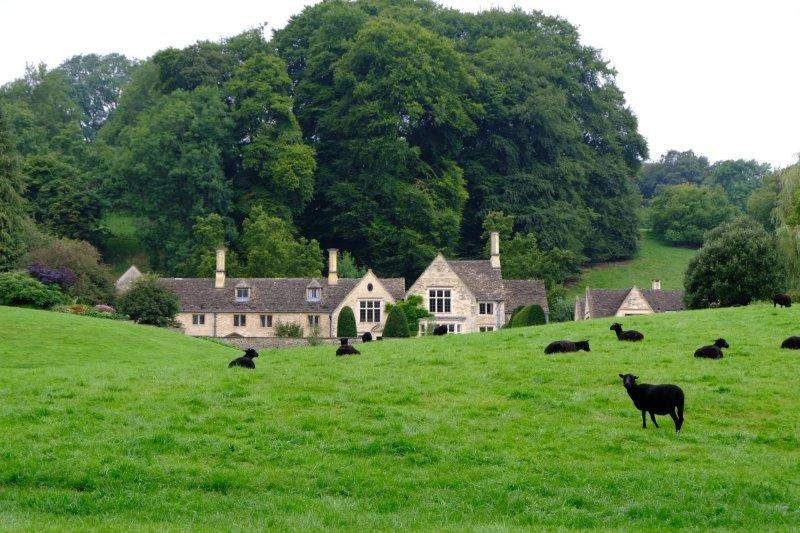 Valley Farm nestling in the hillside