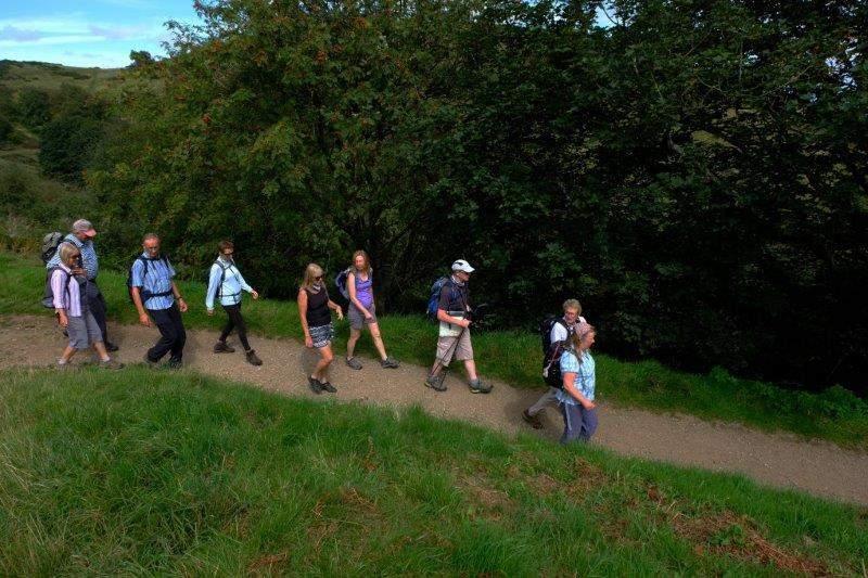 Then it's downhill heading towards Malvern