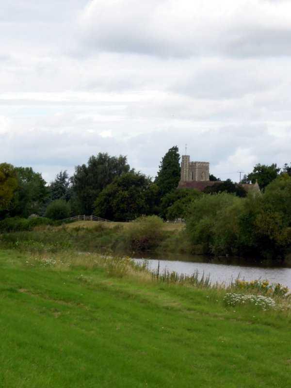Opposite Minsterworth Church