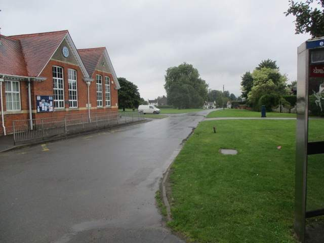 We can look back to the village green