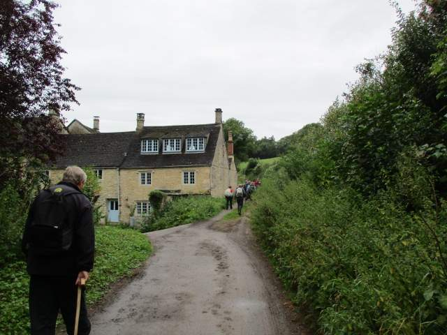 Into the hamlet of Long Dean
