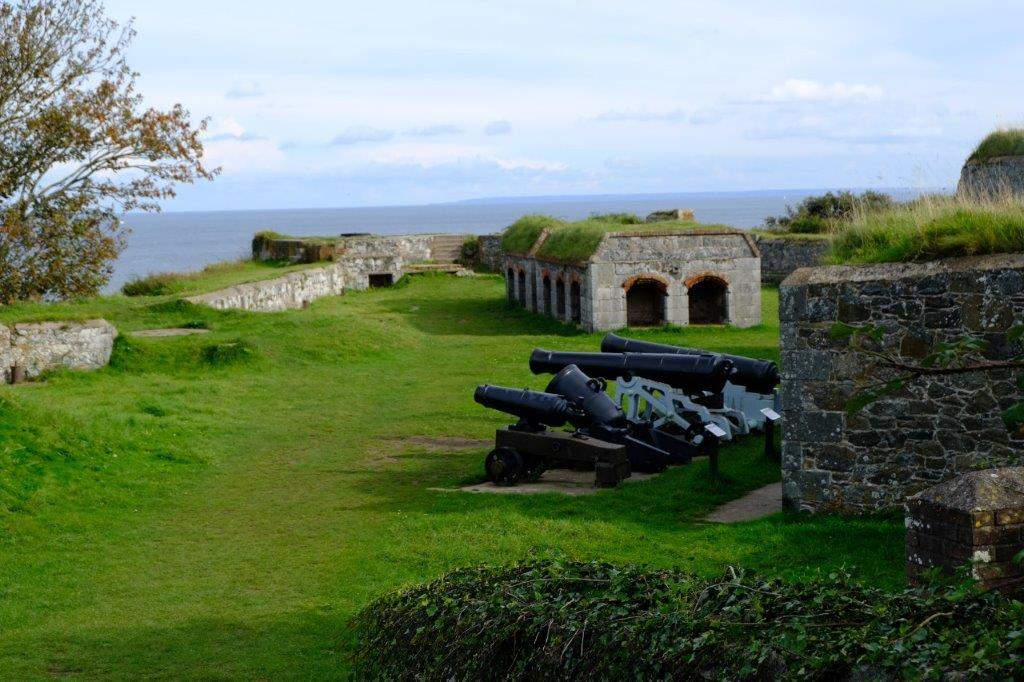 Past the Clarence Battery