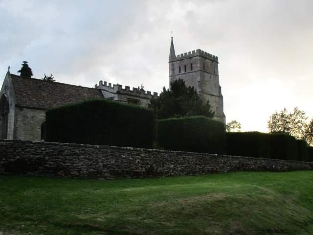 Past the church at Hawkesbury