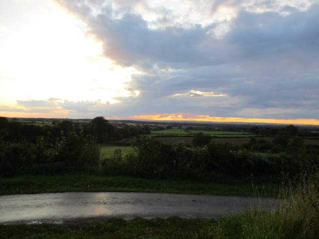We head along the Cotswold Way as the evening draws in