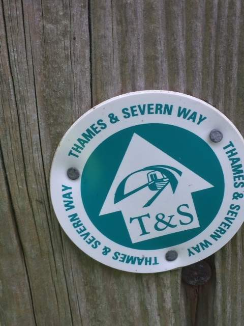 Where we pick up the Thames and Severn Way