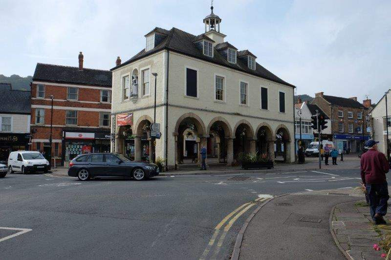 The centre of Dursley