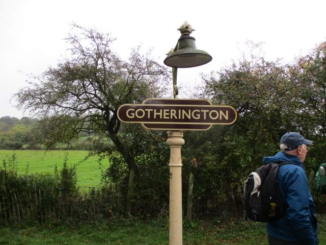 At Gotherington
