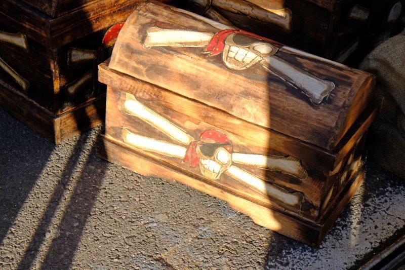 A pirate chest?
