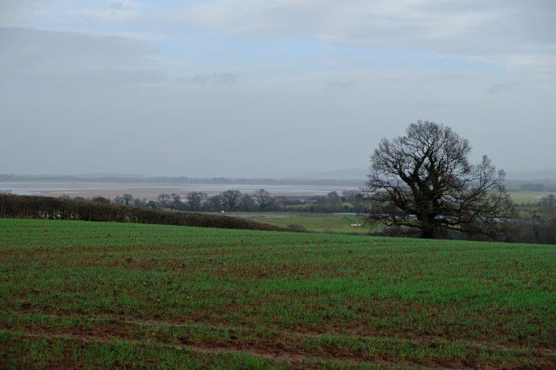 Till we reach the top of the hill looking down over the Severn