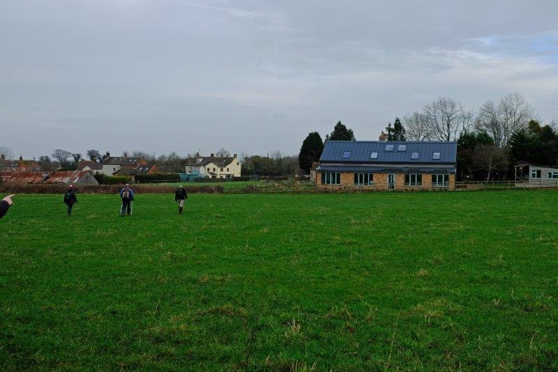 As we return to the start a finger points to the house which featured in  Escape to the Country