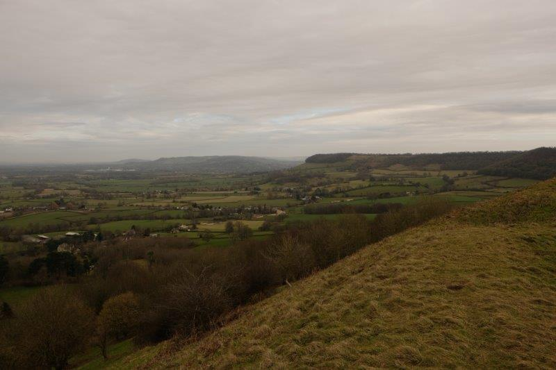 And now up the escarpment