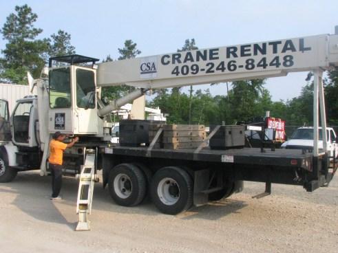 Beaumont crane rental