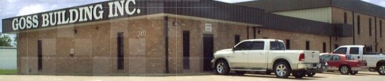 Goss Building Inc., Goss Construction Beaumont TX, Design Build Contractor Port Arthur, Tony Goss