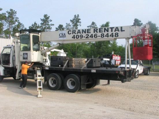 County Sign and Awning Port Arthur Crane Rental, crane rental Pasadena TX, crane rental Houston TX, crane rental Lake Charles LA, crane rental Orange TX, SETX crane rental