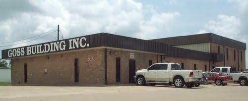 Goss Building Inc., Design Build Firm Beaumont TX, Design Build Contractor Southeat Texas, SETX general contractors, SETX commercial construction