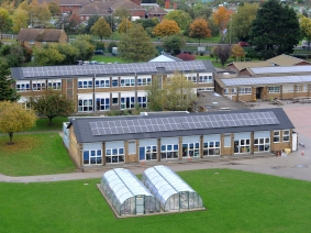 Solar Panels, Temple Sutton, Primary school, Eastern Avenue, Southend. Picture Steve O'Connell 22-10-15