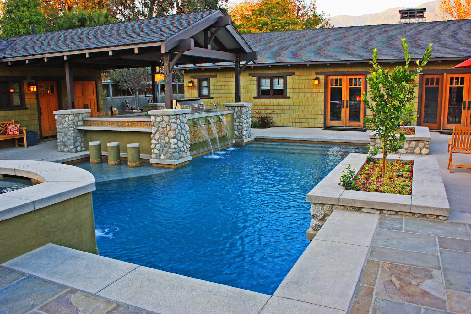 Modern Pool #1 by Southern California Pools on Southern Pools And Outdoor Living id=32462