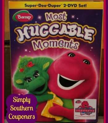 "Barney ""Most Huggable Moments"" 2 Disc DVD {Review}"