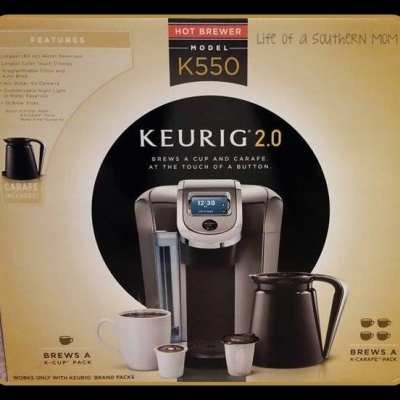 Keurig 2.0 K550 Brewing System *Holiday Gift Guide*