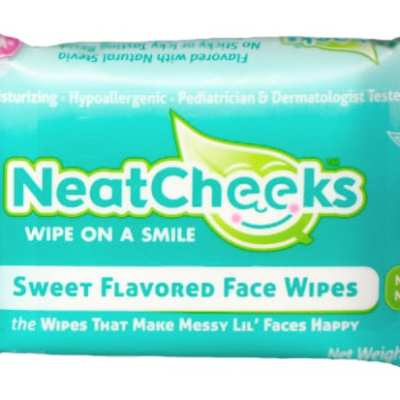 NeatCheeks Review- Wipe on a sweet smile!