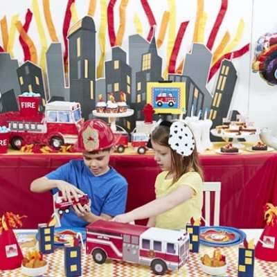 How to Throw a Smokin'-Hot Party with a Little Fireman Theme
