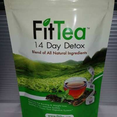 FitTea All-Natural 14 Day Detox #FitTea