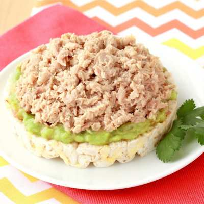 Avocado Ranch Tuna Snack
