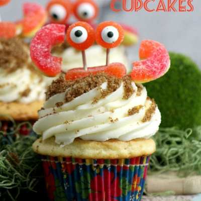 The Cutest Crab Cupcakes