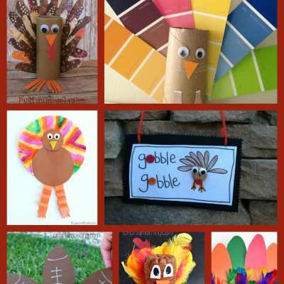 7 Terrific Turkey Craft Ideas