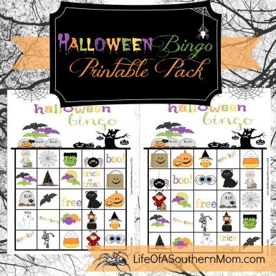 Fun Halloween Bingo Game with Printable