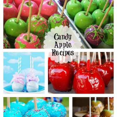 15+ Candy Apple Recipes