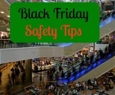 Black Friday Safety Tips