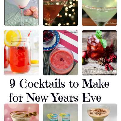 9 Cocktails to Make for New Years Eve