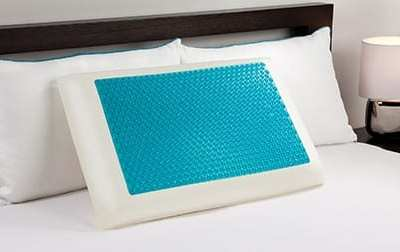 Comfort Revolution Memory Foam Cooling Bed Pillow