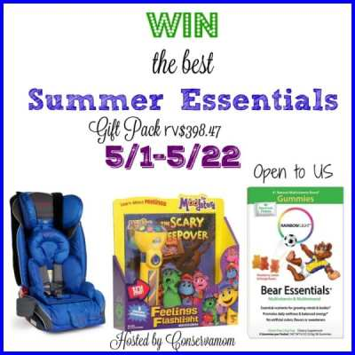 Win the best Summer Essential Gift Pack! 5/22