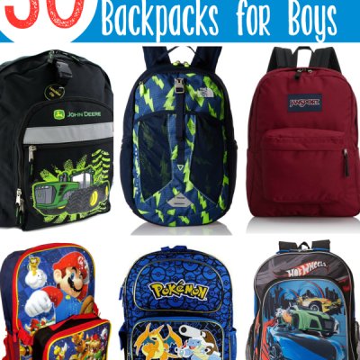 50 Back to School Backpacks for Boys