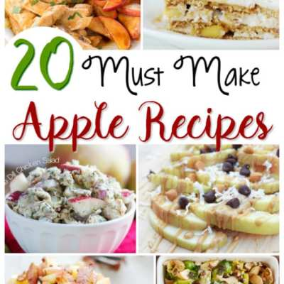 20 Delicious Apple Recipes to Make that are Perfect for Fall