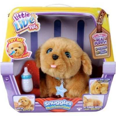 "Little Live Pets ""Snuggles"" – My Dream Puppy Review"